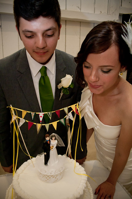 there's nothing like wedding cake.