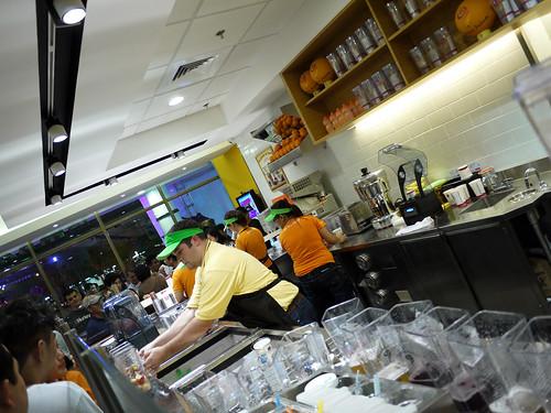 Busy Crew of Jamba Juice