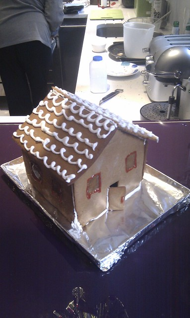 This years gingerbread house