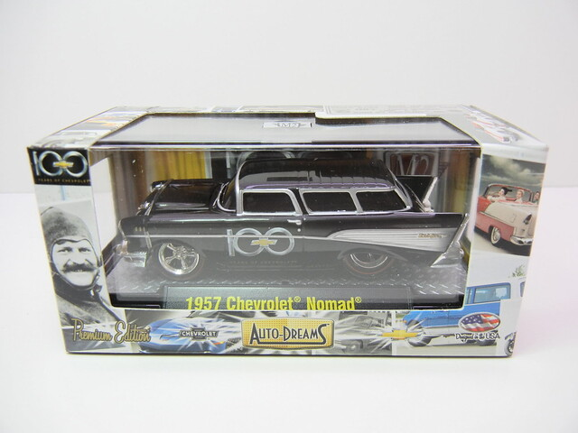 M2 AUTO DREAMS 100 YEARS 1957 CHEVROLET NOMAD