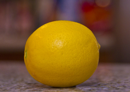 lemon, from my tree