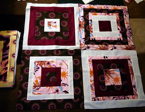 Set of Four Canasta Blocks