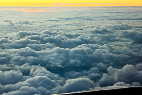 morning sky, morning flight, over the cloud, window seat, first lgiht