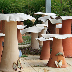Jenny Bourke. fantasy mushroom ring (detail)