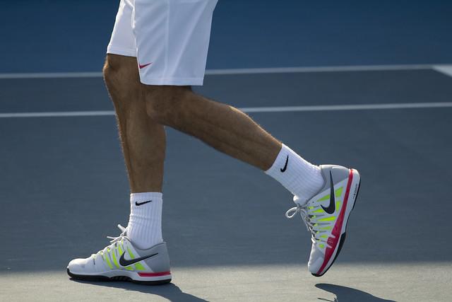 Roger Federer Day 6 Practice - Australian Open 2012