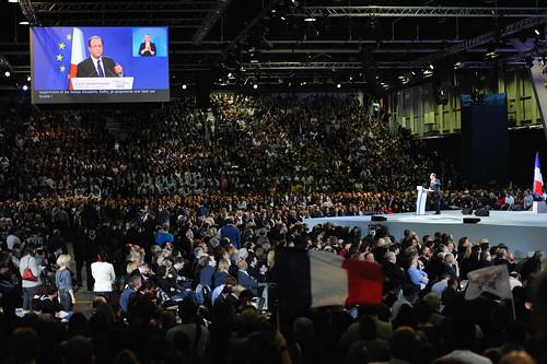 François Hollande lance sa campagne au Bourget