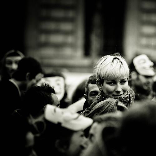 Anonymous protest, 27J, Paris, France by Yann Beauson