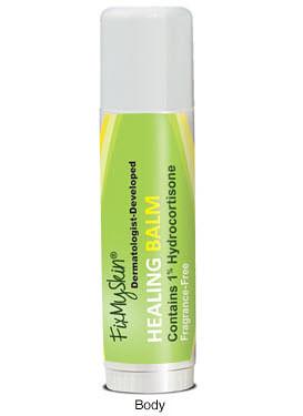 FixMySkin Healing Body Balm Unscented with 1% Hydrocortisone