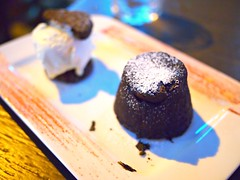 Chocolate fondant, Three Crowns Booze & Grub, Holland Village