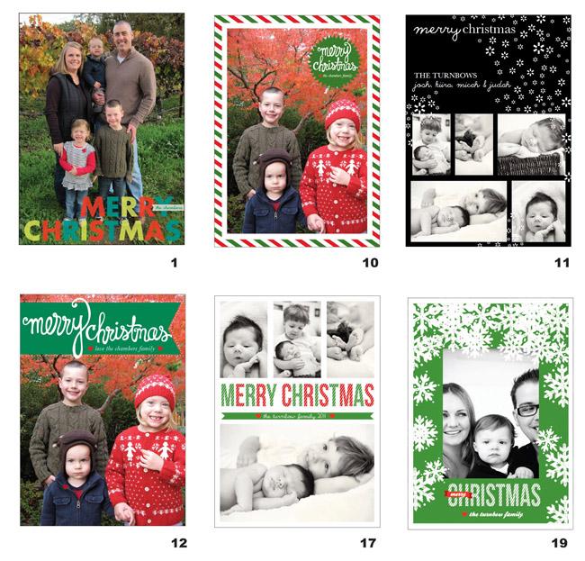 christmas cards eyeheartprettythings