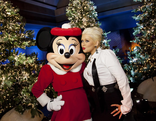 Christina Aguilera performs for 2011 Disney Parks Christmas Day Parade Airing December 25 on ABC
