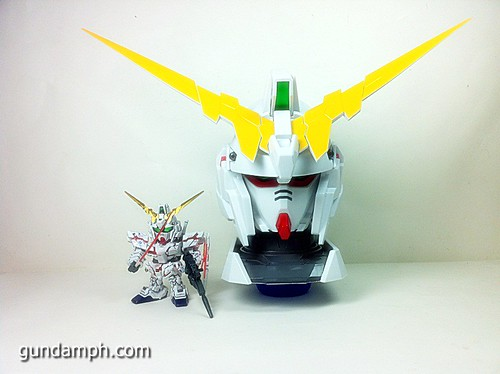 Banpresto Gundam Unicorn Head Display  Unboxing  Review (54)