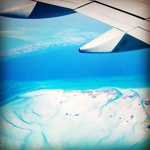 #caribbean #islands #ocean #sea #airplane #travel #flight