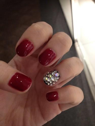Singapore Lifestyle Blog, Beauty blog, nail blog, nail art, nailart, creative nails, nail art in singapore, millys, millys nails, beauty, Singapore blog, manicures, Red nails, Cny nails, Bling nails