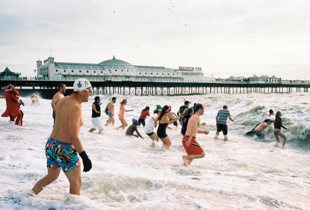 brighton christmas swim 2011