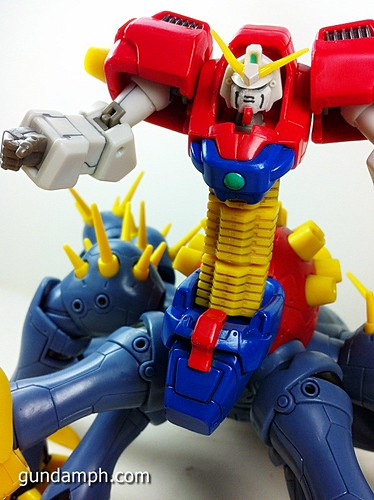 MSIA Devil Gundam First Form Unboxing Review Huge (72)
