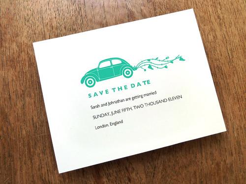 Printable Save the Date - Beetle