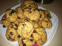 Vegan Chocolate Chip Cinnamon Cookie Recipe