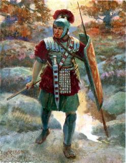 Forestier's impression of a centurion