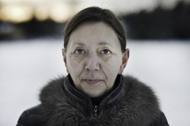 Arja winter portrait