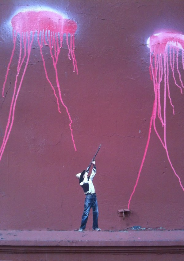 Target Practice with the Jellyfish on India Street