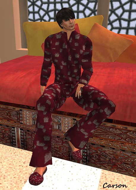 [Kilter] - Pajama Set with Slippers