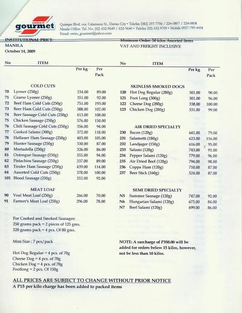11-10-2011 swiss gourmet pricelist 2