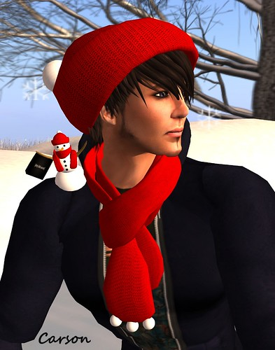 [dirty.little.secret]  - Christmas Cap & Scarf, Hiliday Shopping Buddy