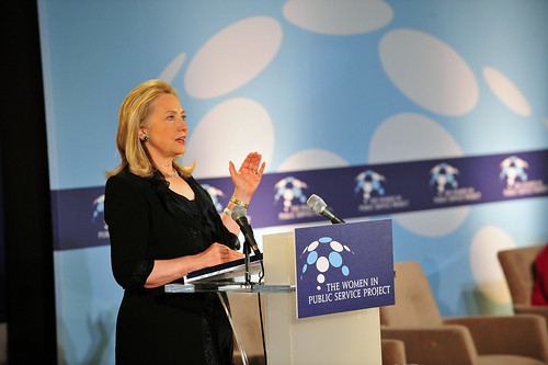 Secretary Clinton Delivers the Keynote Address at Inaugural Women in Public Service Colloquium