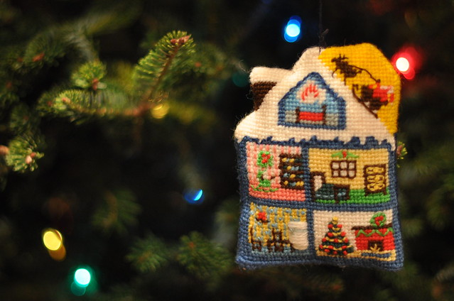 house ornament back