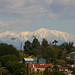 Mountain view from my old apartment in Santa Monica.