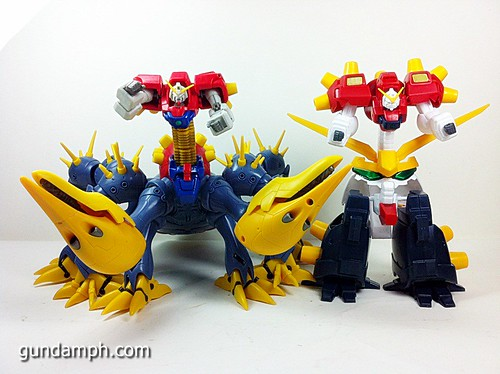 MSIA Devil Gundam First Form Unboxing Review Huge (78)
