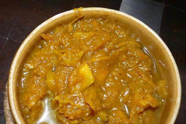 pumpkin bhaji