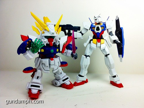 SD Archive Shining Gundam Unboxing Review (43)