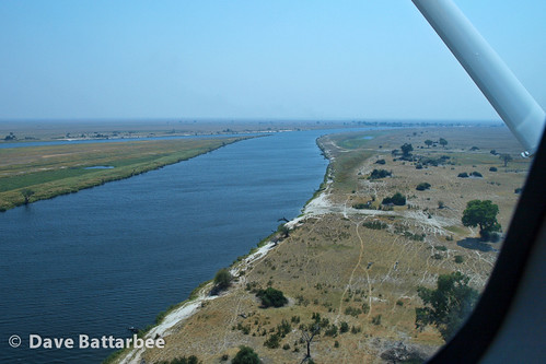 Chobe River from the air