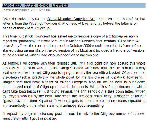 Plutonomy - noapparentmotive received take down letter