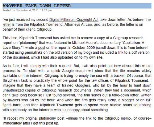 Plutonomy - noapparentmotive received take down letter