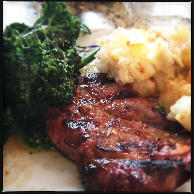 Dry aged New York Strip Steak