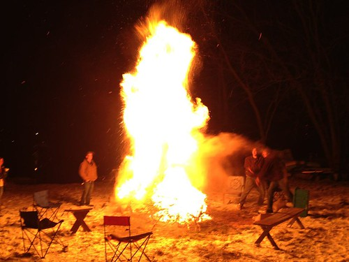 Campfire + Sawdust