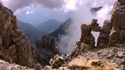 SÜDTIROL, Dolomiten, Tolle Landschaft im Latemar  -  418/892 v