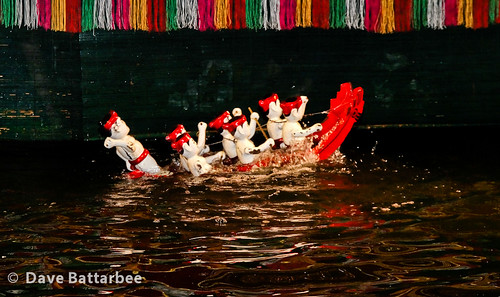 Water Puppets - Boat