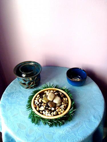 Three Realms Meditation Altar