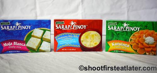 Sarap Pinoy's ready mixes
