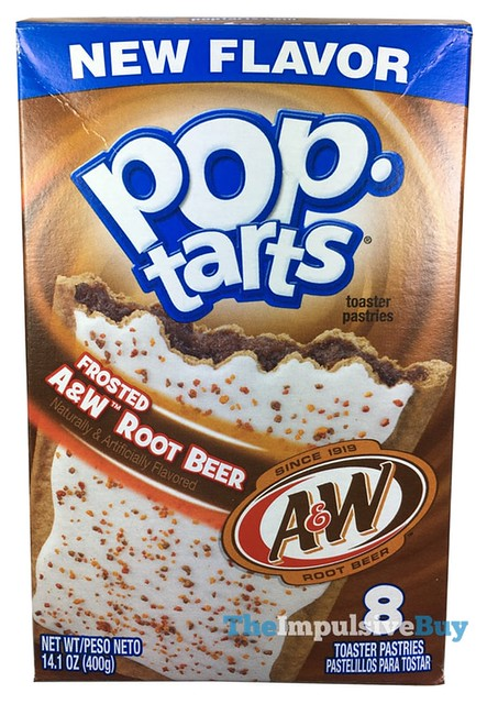 Kellogg's Frosted A&W Root Beer Pop-Tarts