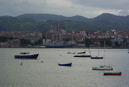 Portugalete and Santurtzi from Getxo Tamronized by Iker Merodio