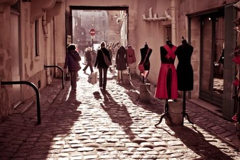 Paris shop by Ignacia Bernal