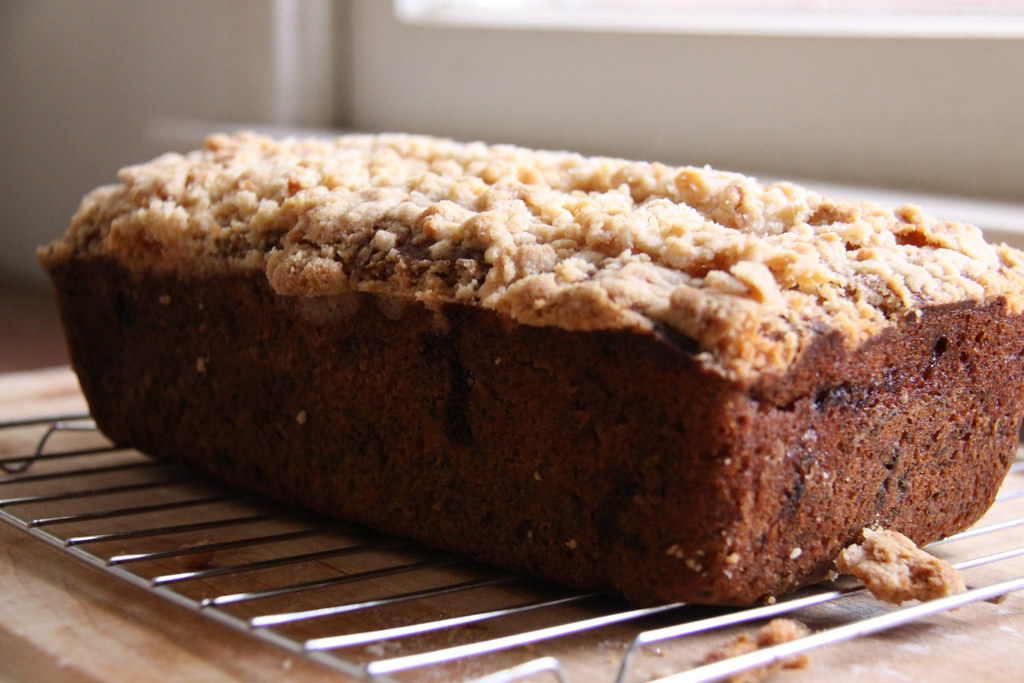 banana bread loaf whole
