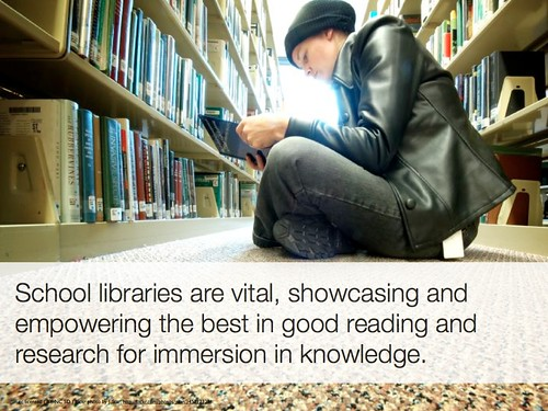 School libraries are vital