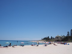 Christmas at Cottesloe Beach