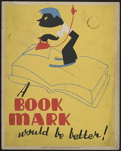 A book mark would be better! (LOC)